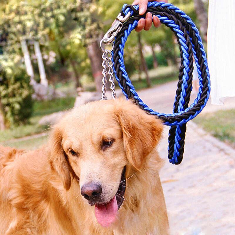森悠(saryor)狗链 牵引绳 狗绳 牵引带自动项圈【森悠