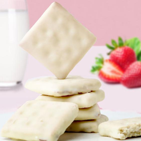 酸奶涂层夹心小饼干【芒果味】100克*2